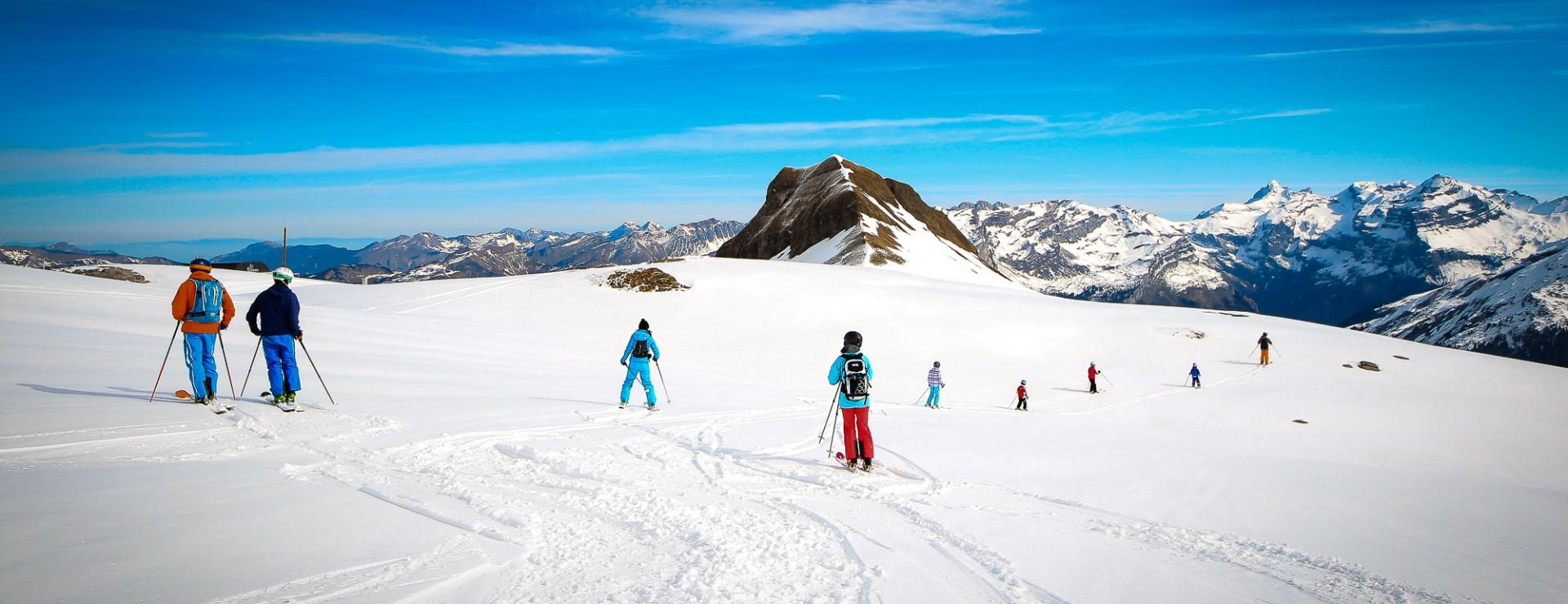 Ecole de ski Flaine